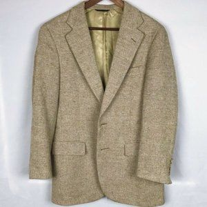 Nordstrom's Light Brown Tan Tweed Blazer Sports